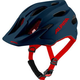 Alpina Carapax Helmet Youth indigo matt